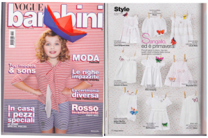 PARUTION VOGUE BAMBINI ETE 2012